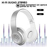 AndThere-Bluetooth-Cuffie-Stereo-Senza-Fili-Cuffie-con-Microfono-Riduzione-del-Rumore-Over-Ear-Cuffie-Pieghevoli-Auricolari-On-Ear-Cuffia-per-Bambini-Donna-Uomo-iPhone-iPad-Computer-TV-PC-Tablet