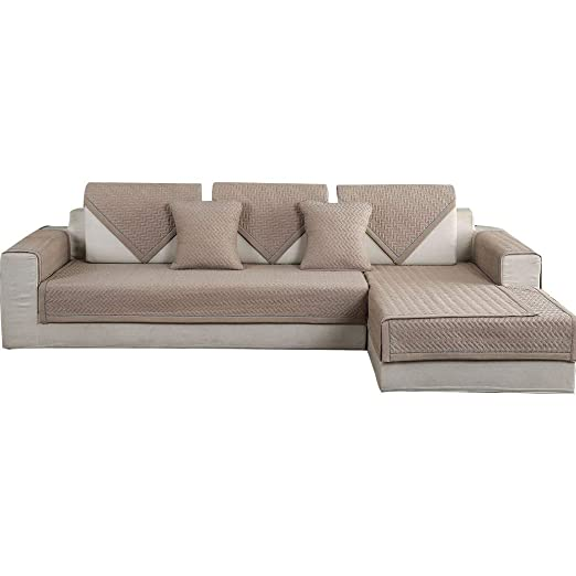 forcheer sofá Mats algodón antideslizante cubre sofá sofá ...