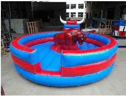 Hinchable corrida de toros máquina castillos inflable trampolín en ...