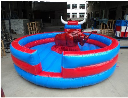 Inflatable bullfight machine castles Inflatable trampoline in playgrounds