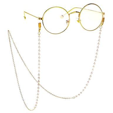 choisir officiel mode de premier ordre vraie qualité Fauhsto Cha?nes et cordons š€ lunettes pour Femme,Cha?ne de ...