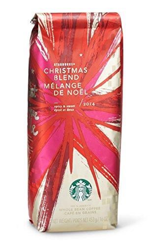 2016 Starbucks Christmas Merge Whole Bean Coffee - 1 pound bag