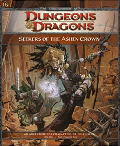 Cover of Seekers of the Ashen Crown