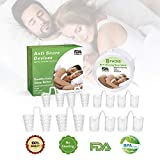 Csean Anti Snoring Devices Stop Snoring Solution Original Nose Vents Snoring Aids Nose Nasal Dilator...