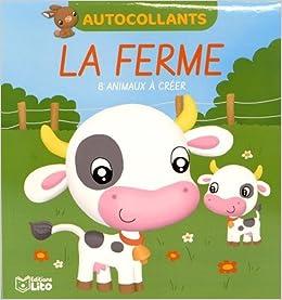 Book Mes petits blocs en autocollants: La ferme - Dès 4 ans
