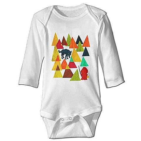 Raymond A Dangerous Hood Long Sleeve Baby Climbing Clothes White 6 M (Dangerous Evolution)