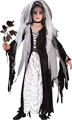 Girls Bride Of Darkness Kids Child Fancy Dress