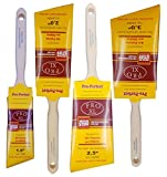 Pro-Perfect 4 Pack Professional Paint Brushes. The 'Purdy' quality brush without the HIGH cost.Includes one each 1-1/2',2',2-1/2', and 3'.