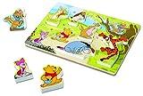 Melissa & Doug Disney Winnie The Pooh Wooden Chunky Puzzle