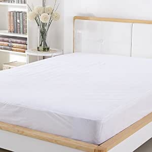 Sable Mattress Protector Queen Size, 100% Waterproof Hypoallergenic, Registered with FDA, Dust Mite Protection, Breathable and Machine Washable, Vinyl Free