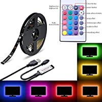 LED TV Back Light Colour Changing 5050 RGB LED String light with 24 keys Romote Control For 48 to 55 TV / 138 Inches Led Strip Light