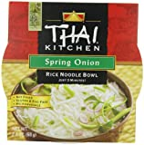 chicken and rice bowl - Thai Kitchen Rice Noodle Soup Bowl, Spring Onion, 2.4 Ounce (Pack of 6)