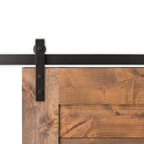 Artisan Hardware Micro  Pick Your Track Size Color Barn Door Hardware Kit   5 FT 2 Inches  USA MADE   Track   Oil Rubbed Bronze by Artisan Hardware
