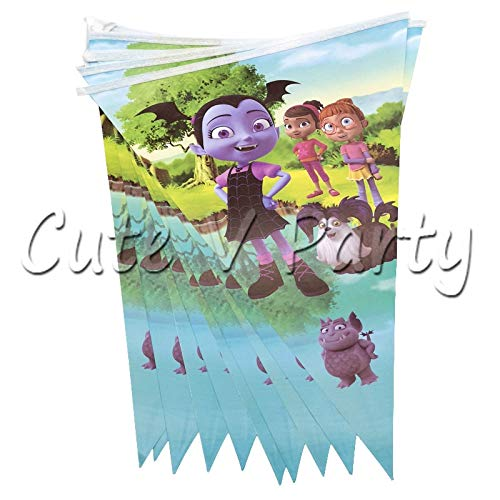 vampirina Girl Theme Cartoon Party Vajilla Decoraciones Set ...