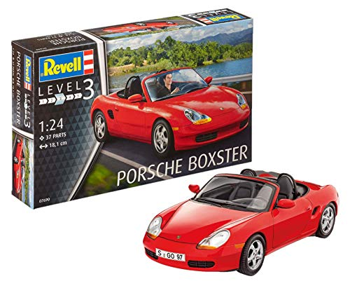 Revell Porsche Boxster Model Kit, 1:24 Scale, 18.1 cm