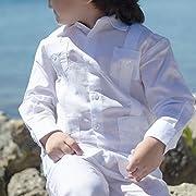 Boy's Long Sleeve Guayabera.