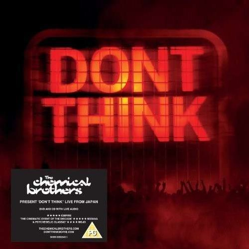 Blu-ray : The Chemical Brothers - Don't Think (With CD, 2PC)