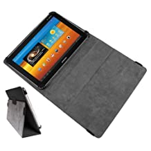 DURAGADGET PU Leather Folio Case Cover / Stand With Full Front & Back Protection For Samsung Galaxy Tab 10.1 P7500, Samsung Galaxy Tab 10.1 P7510, Samsung Galaxy Tab 2 P5113 & Samsung Galaxy Tab 2 10.1 GT-P5110