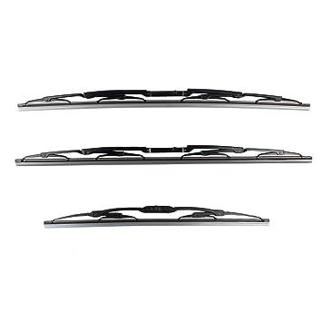 Para Para Land Rover Range Rover 03 - 12 delantero y trasero Limpiaparabrisas Set X3 dkc000040 lr012047: Amazon.es: Coche y moto