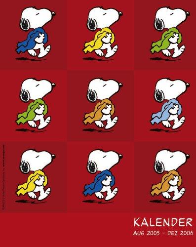 Snoopy Agenda A5 2006 Kalender. 17-Monats-Kalender: NA ...