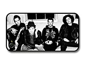 Fall Out Boy FOB Gang Sitting On Sofa Black & White case for iPhone 4 4S A3517