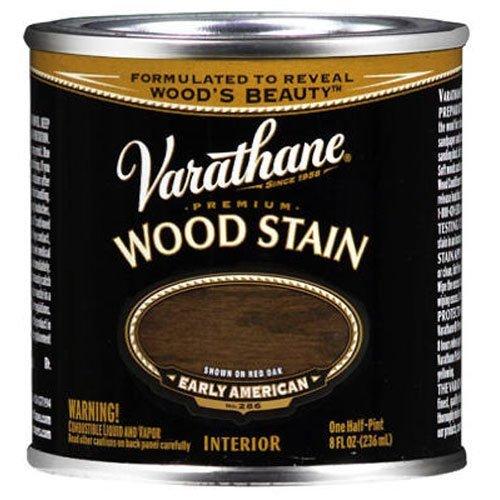 Floor Varathane Premium (Varathane 211806 Premium Wood Stain, Half Pint, Early American)