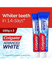 Colgate Advanced Whitening Toothpaste, 160g (Pack of 6)