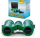 Kidwinz Shock Proof 8x21 Kids Binoculars Set High Resolution Real Optics - Bird