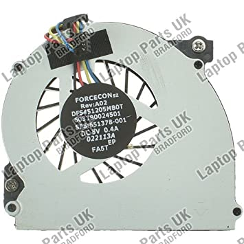 Laptop Parts UK (UK VAT Registered) Ventilador de Refrigeración para Ordenador Portátil HP EliteBook 2570P Serie OEM: Amazon.es: Informática