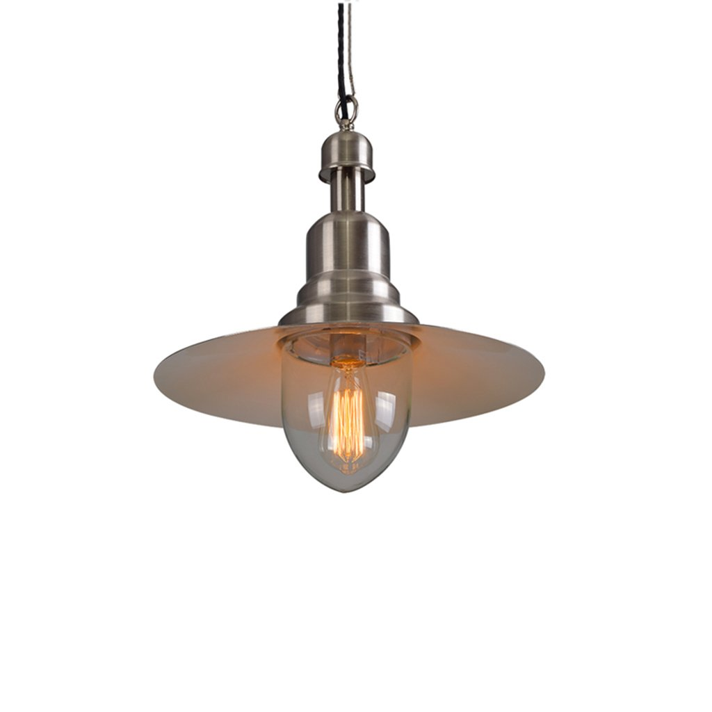 ZYANZ- Copper Retro Industrial Chandeliers Creative Personality Restaurant Cafe Bar Table Head Iron Chandeliers