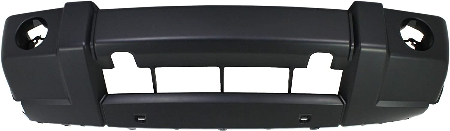 NEW FRONT BUMPER COVER FIT JEEP COMMANDER BASE MODEL 2006 2010 CH1000875