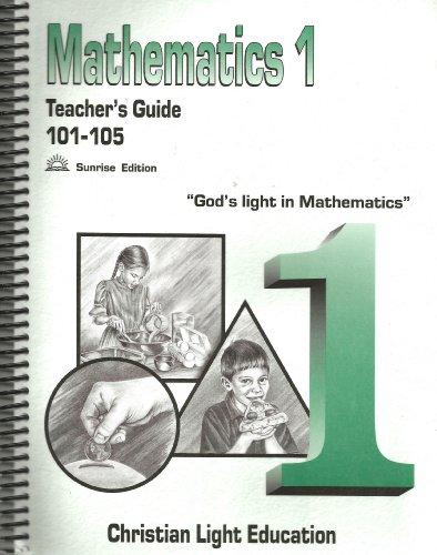 Mathematics 1, Teacher's Guide for 101-105