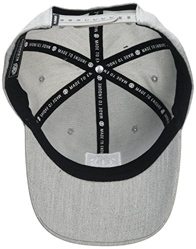 Element Treelogo Gorra, Unisex Adulto gris (grey heather)