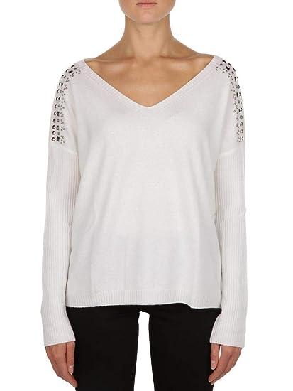 huge discount 6b2f0 d39d4 Pullover Liu Jo in Lana Donna LIU-JO cod.C68116MA83H WHITE ...