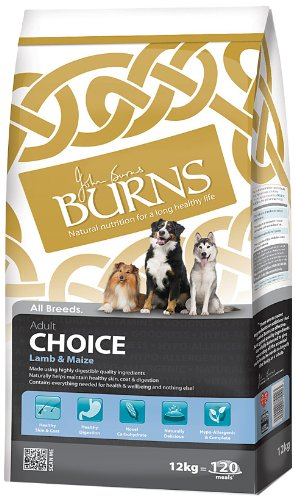 Burns Dog Food Lamb Choice 12kg