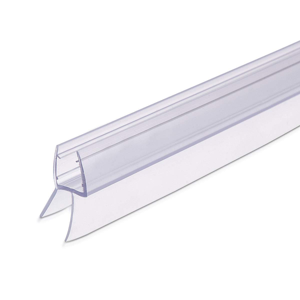 Joint de Rechange /étanche 80cm 45/° pour Bas Porte de Douche en Verre 6mm d/épaisseur Navaris Joint /étanch/éit/é Douche Joint en PVC