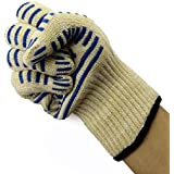 Yeme Hot Surface Handler OVEN GLOVE 540°F With Non-Slip Silicon Grip(PAIR) Cook, Adjust, Repair & Work Safely
