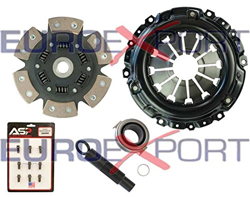 4 Pad Clutch (Competition Clutch 8037-1620 Clutch Kit(2002-2008 Acura Rsx Stage 4-6 Pad Ceramic))