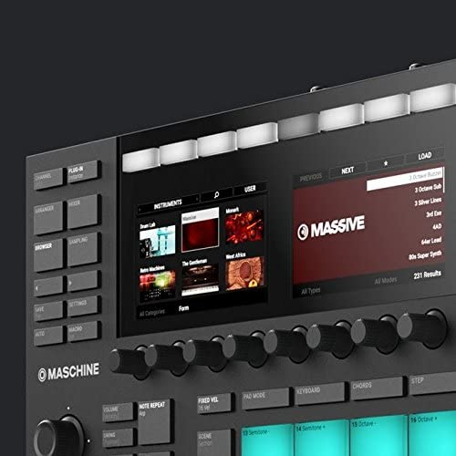 Native Instruments Maschine Mk3 Drum  color screens