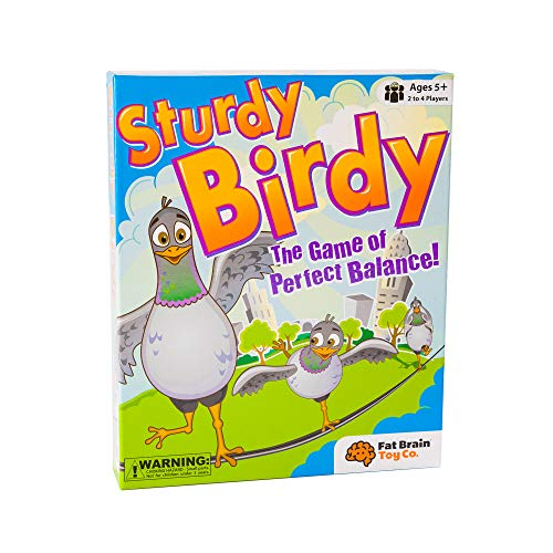 Sturdy Birdy is a neat indoor active toy for kids
