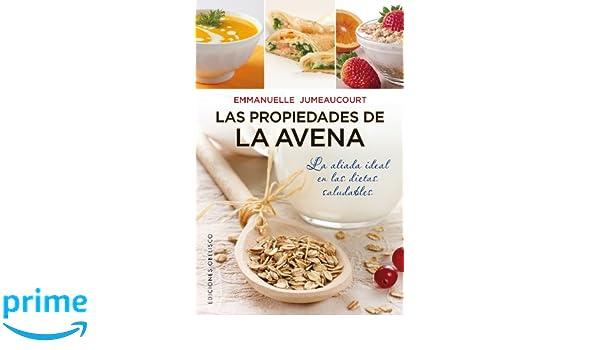 La propiedades de la avena (Coleccion Salud y Vida Natural) (Spanish Edition): Emmanuelle Jumeaucourt: 9788497779166: Amazon.com: Books