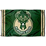 WinCraft NBA Milwaukee Bucks 3x5 Banner Flag