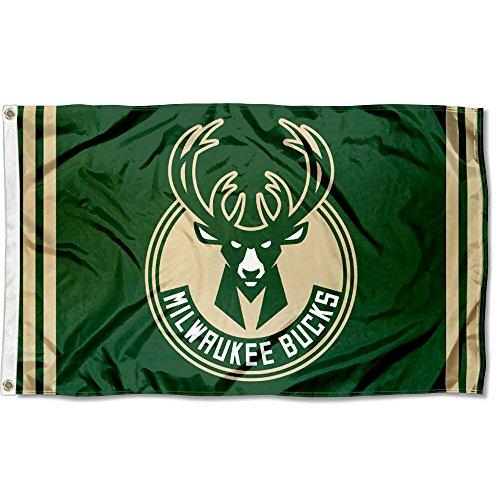 WinCraft NBA Milwaukee Bucks 3x5 Banner Flag by WinCraft