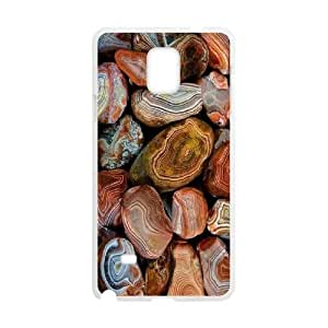 Customized Agate Layers of Agate Note4 Cover Case, Agate Layers of Agate Custom Phone Case for Samsung Galaxy Note4 at Lzzcase