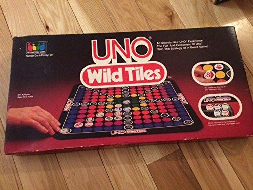 Uno Wild Tiles Board Game
