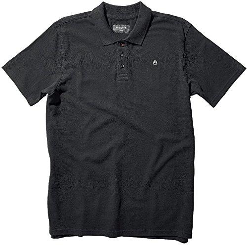 NIXON Range Polo - Black - L
