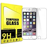 "Carapace Tempered Glass for iPhone Screen Protector - Best Protection Apple iPhone 8 Plus, 7 Plus, 6/6S Plus [5.5"" Screens]- Clear Protective Film, Scratch Resistant - Compatible Touch Screen Display"