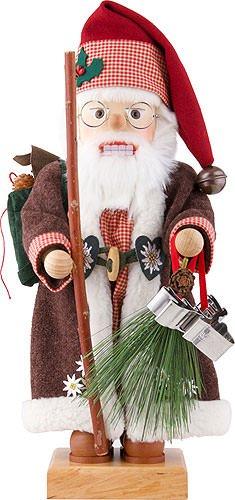 German Christmas Nutcracker Alpine Santa limited edition - 46cm / 18 inch - Christian Ulbricht by Ulbricht