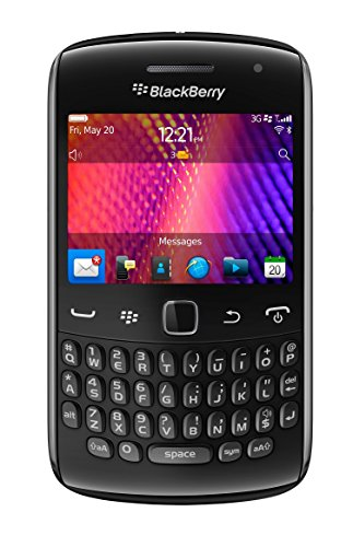 Blackberry Curve 9360 Unlocked Quad-Band 3G GSM Phone with 5MP Camera, QWERTY Keyboard, GPS and Wi-Fi - Black ()