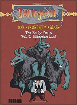 Book Dungeon: The Early Years - Vol. 2: Innocence Lost